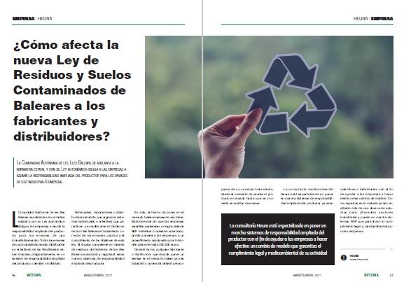 Ley de Residuos de residuos y suelos contaminados de las Islas Baleares